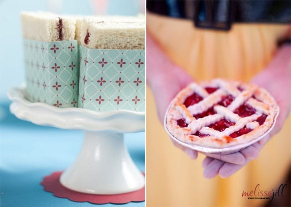 picnic-ideas-sandwiches-mini-cherry-pie-picnic-wedding-ideas