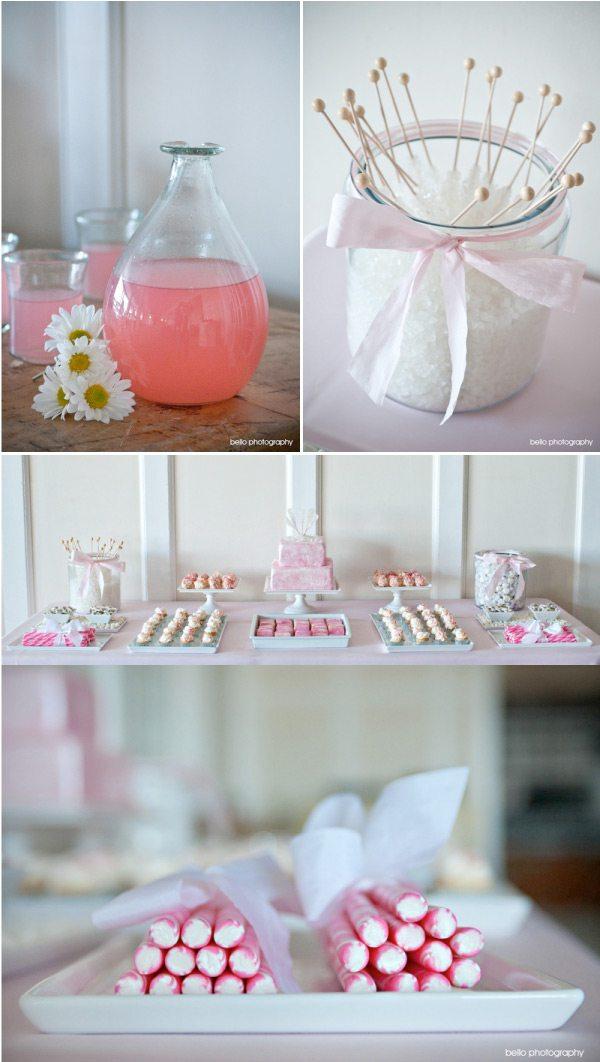 pink-lemonade-pink-white-wedding-ideas-delicious-desserts-buffet