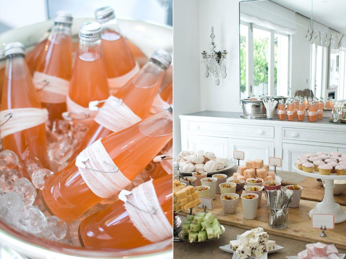 93 pink food ideas for baby shower aperitivo para - Aperitivos para baby shower ...