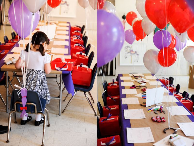 Leias Red and Purple Birthday Party The Sweetest Occasion