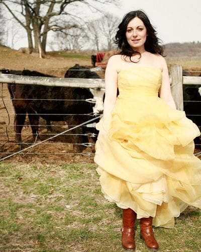 A Sunshine Yellow Wedding Dress thumbnail