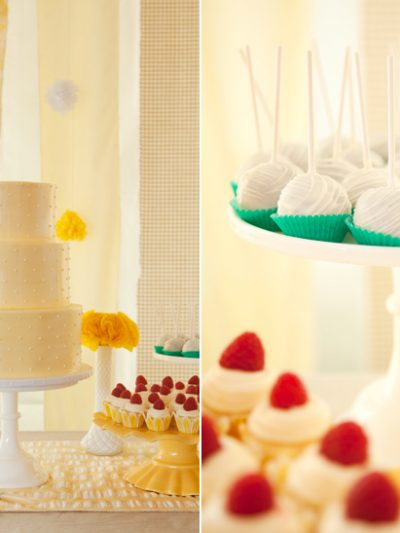 Buttercup Yellow Dessert Table thumbnail