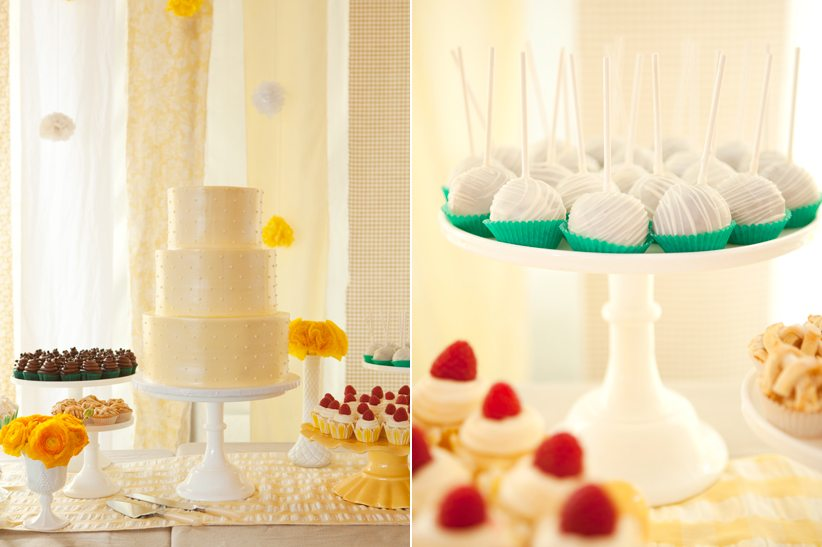 Buttercup Yellow Dessert Table - The Sweetest Occasion
