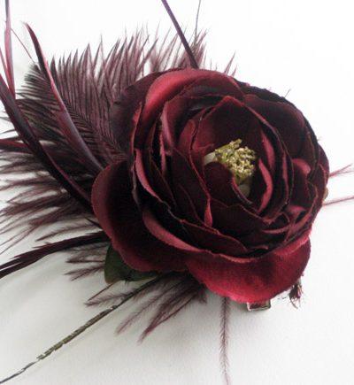 DIY Flower Corsage + Hair Clip thumbnail