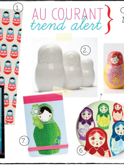 Guest Post – Au Courant Trend Alert: Cute Russian Matroyshka Dolls thumbnail
