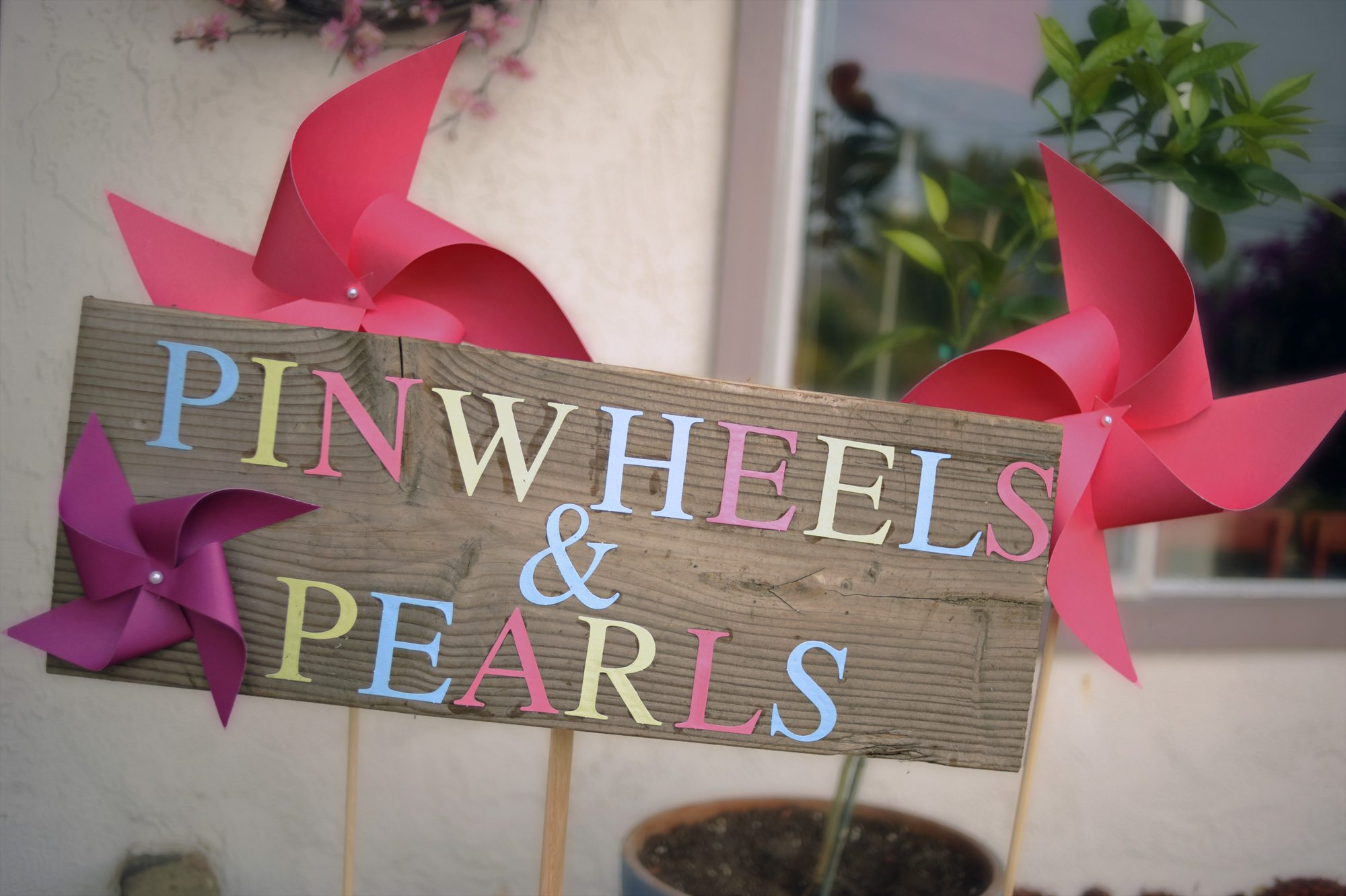 Pinwheel Theme First Birthday Party - The Sweetest Occasion