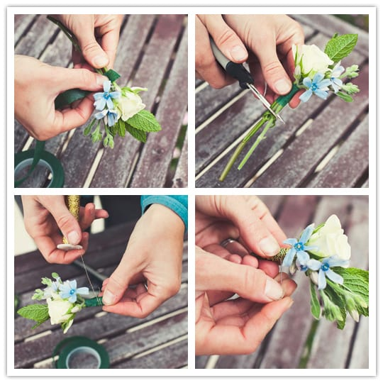 how to create wedding flowers