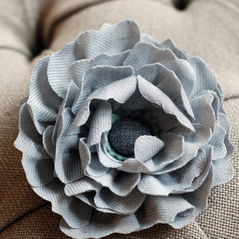 Fabric Flowers From Churchtown Chapeau Co The Sweetest
