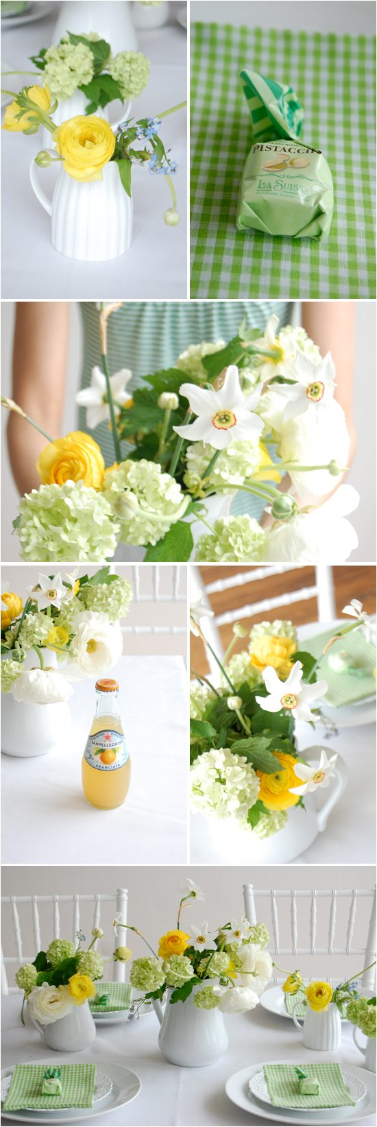 green-white-summer-wedding-gingham-napkins-pistachio-wedding-favor-ideas
