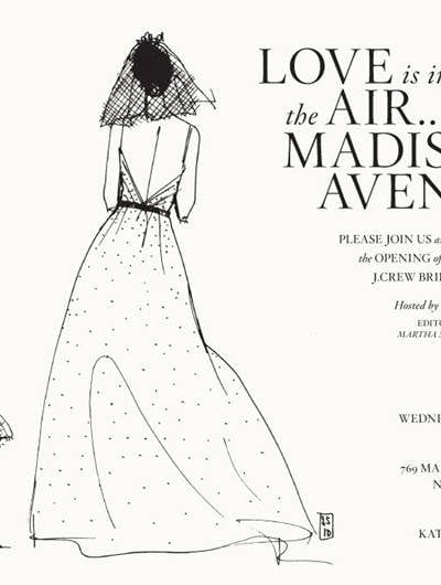 J.Crew Bridal Boutique Launch Party with Darcy Miller thumbnail