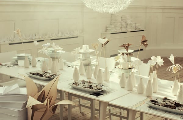Origami Tablescape Ideas The Sweetest Occasion