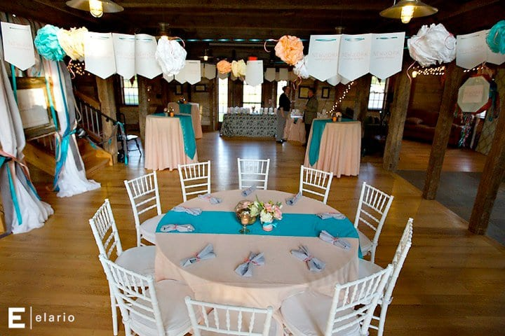 Peach teal wedding reception ideas the sweetest occasion peach teal wedding reception ideas junglespirit Choice Image