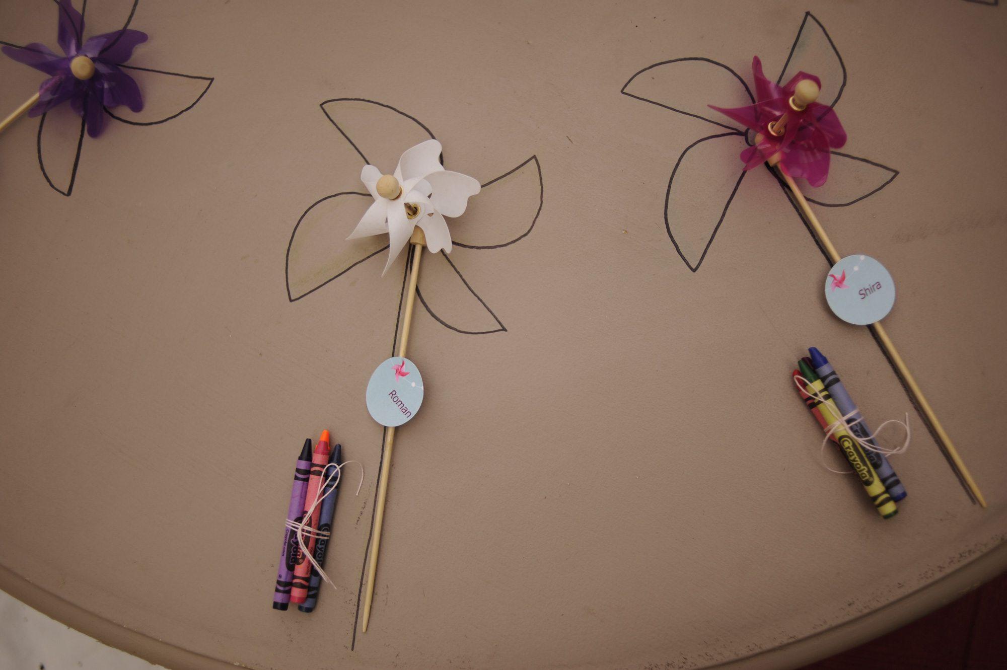 Pinwheel Birthday Party Kraft Paper