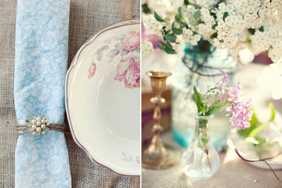 Wedding Napkin Ring 32 Fresh vintage inspired wedding ideas