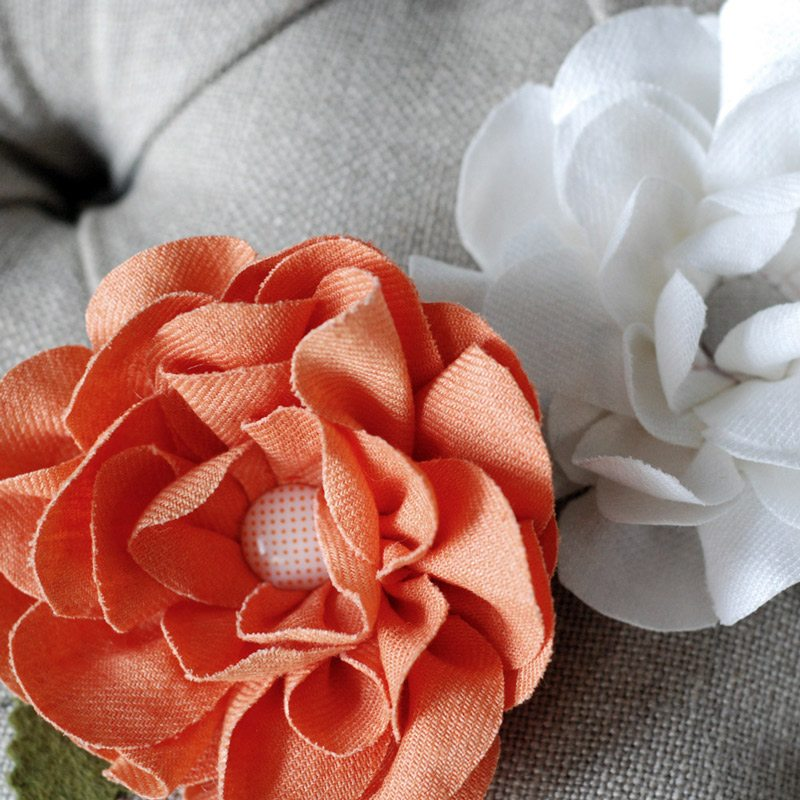 Making Fabric Flowers Wedding: Inspiration Songket Affairs : {Trend Alert} Fabric Fabulosity