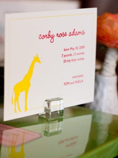 Guest Post – A Little Baby Love with Gus & Ruby Letterpress thumbnail