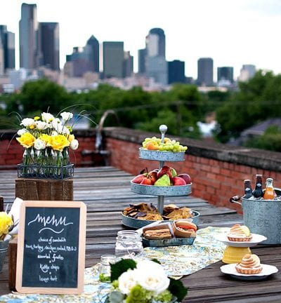 Inspired Creations – Rooftop Picnic Wedding Ideas thumbnail