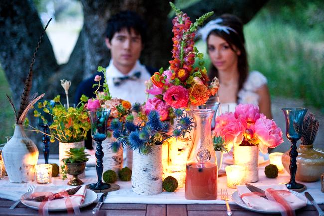 decoracion para boda bohemia