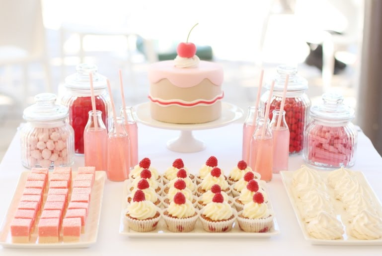 Images Of Party Cupcake : Birthday Cake with a Cherry on Top - The Sweetest Occasion