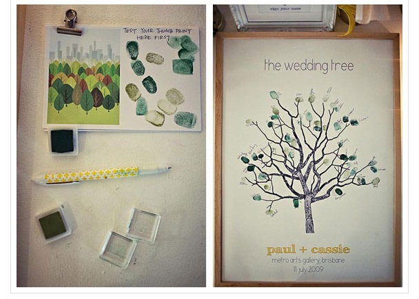 family-tree-guest-book-idea - The Sweetest Occasion — The Sweetest ...