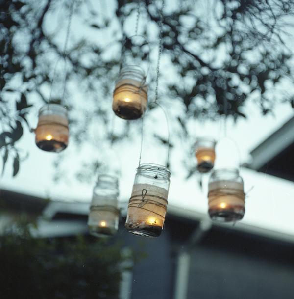 Rsvpcustominvitations diy lantern jars for Hanging candles diy