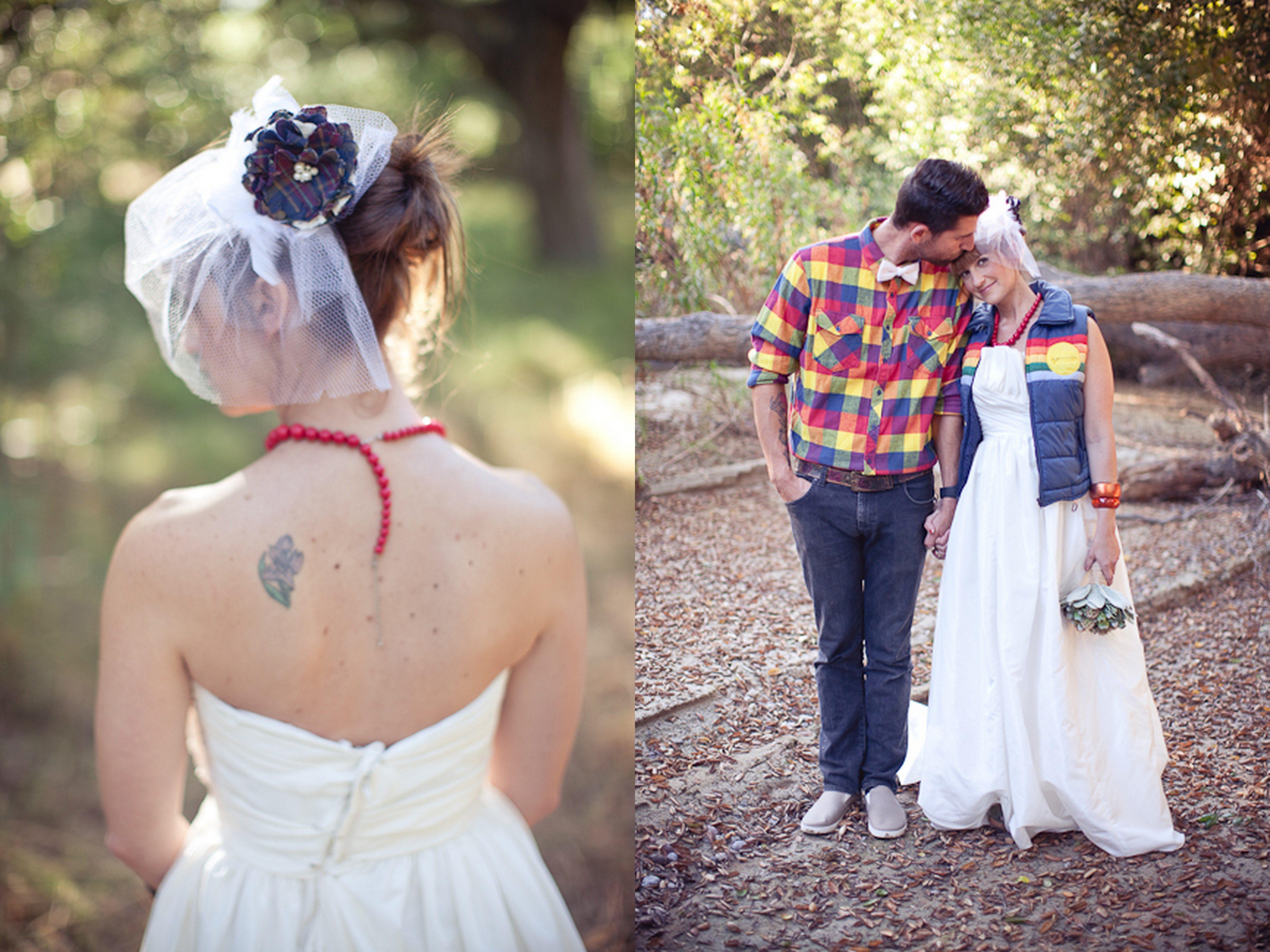 camp wedding dresses