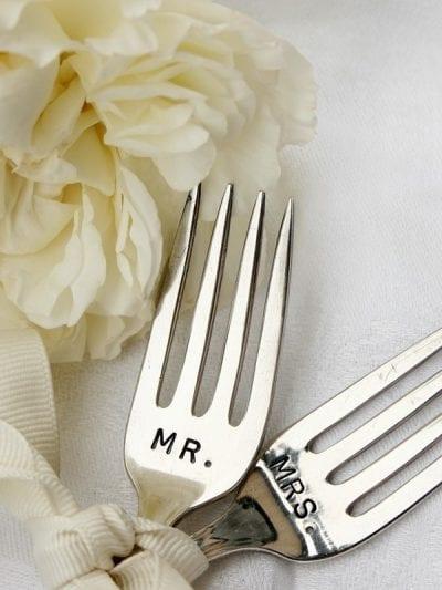 Vintage Wedding Cake Forks thumbnail