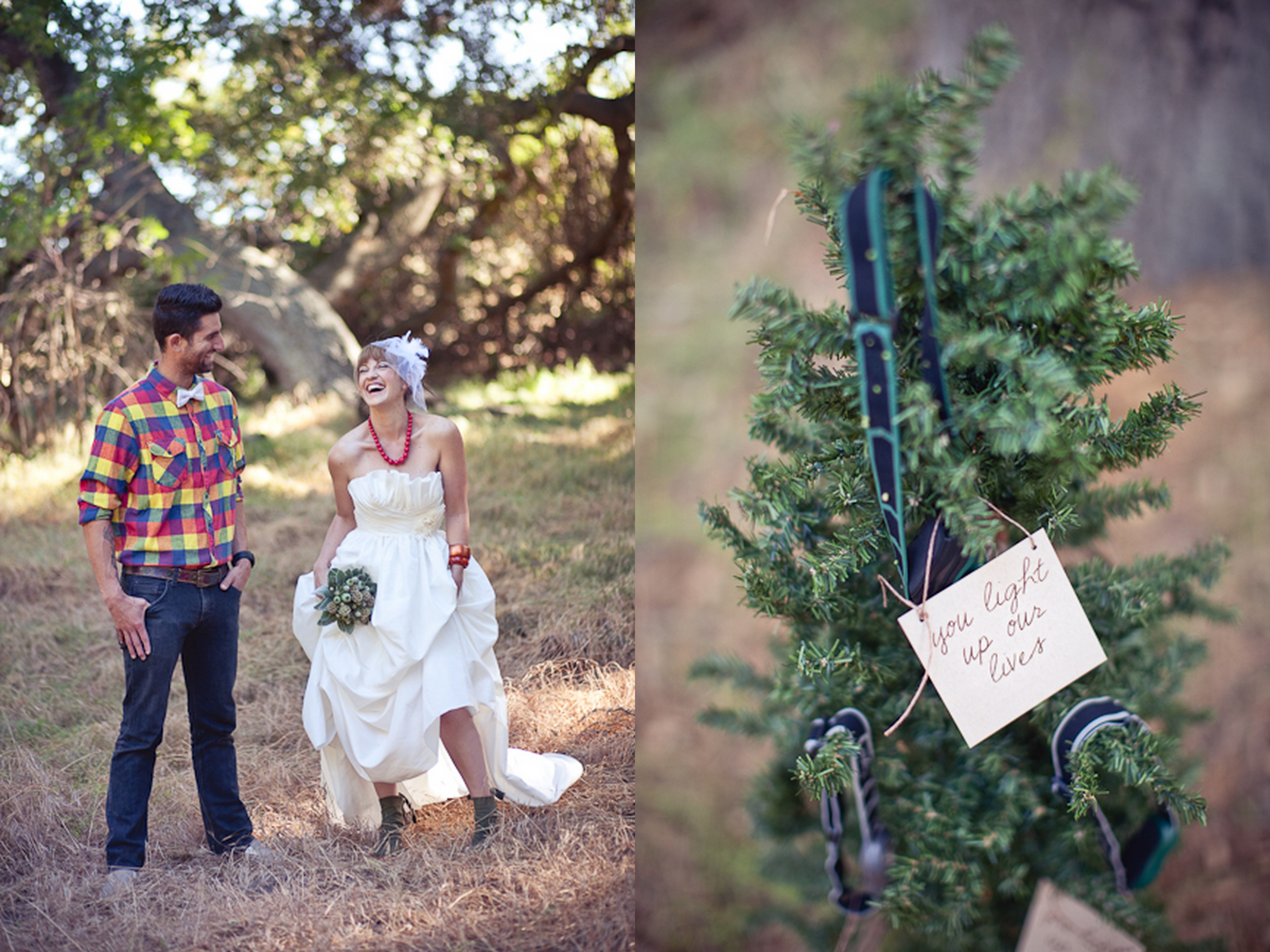 Outdoor enthusiast wedding ideas camping hiking mountain