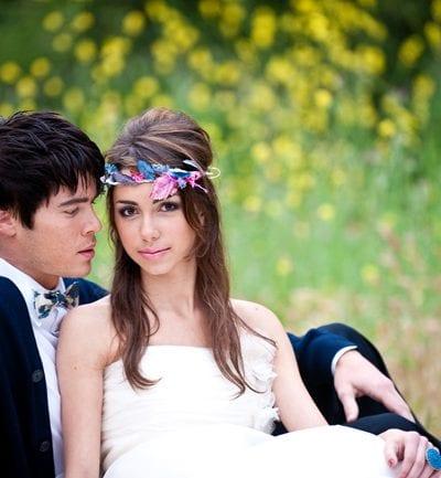 Al Fresco California Bohemian Wedding – Portraits + DIY thumbnail