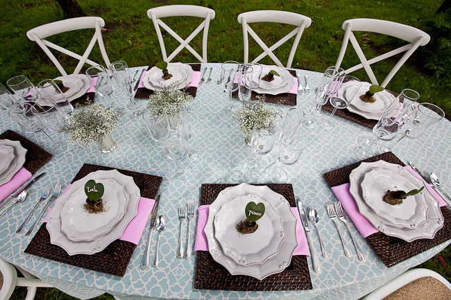Together they envisioned an intimate outdoor wedding celebration filled with