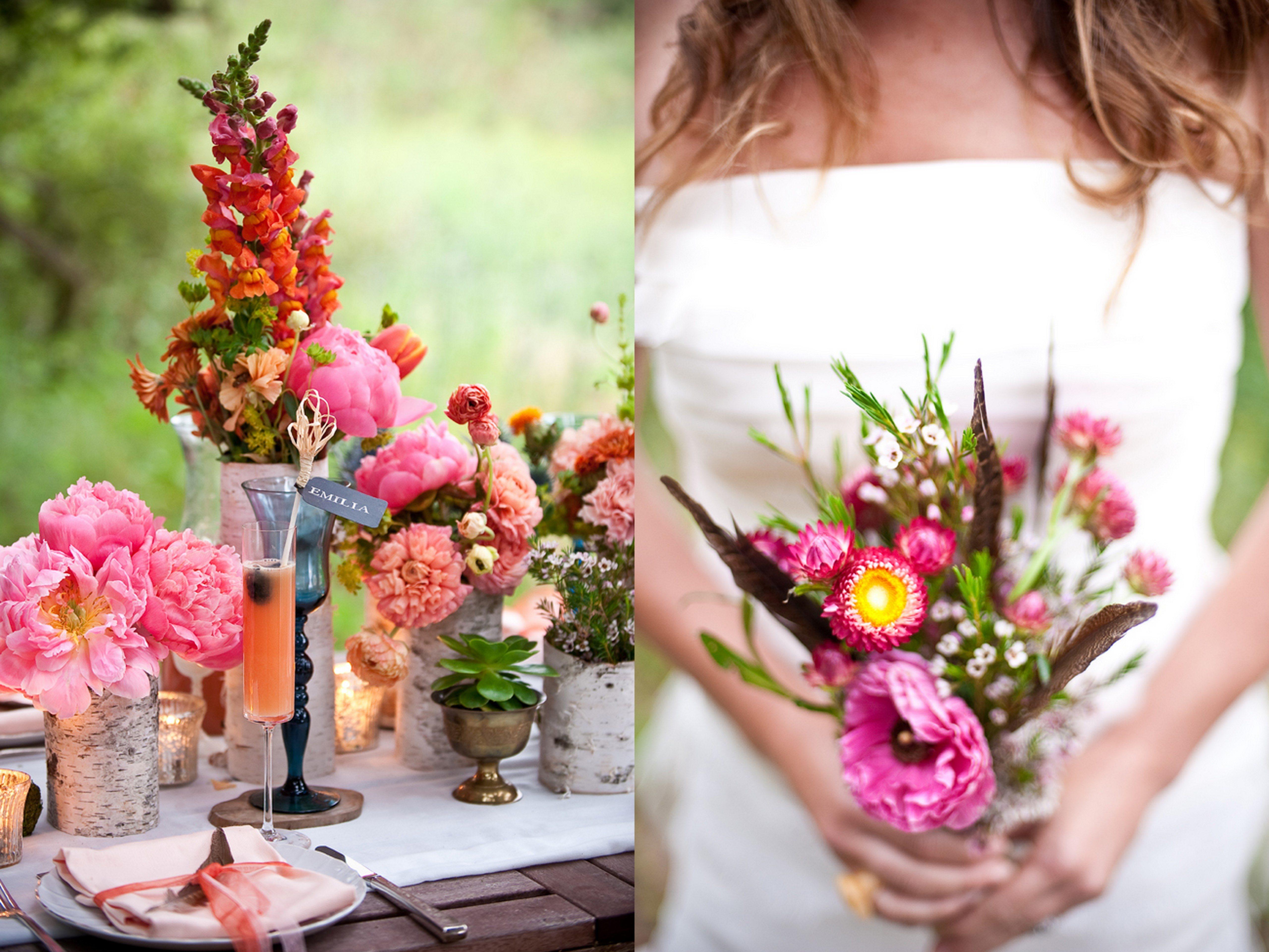 Inspired Creations Al Fresco California Bohemian Wedding