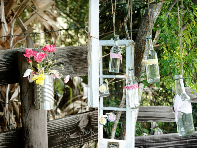 Rustic Outdoor Farm Garden Party
