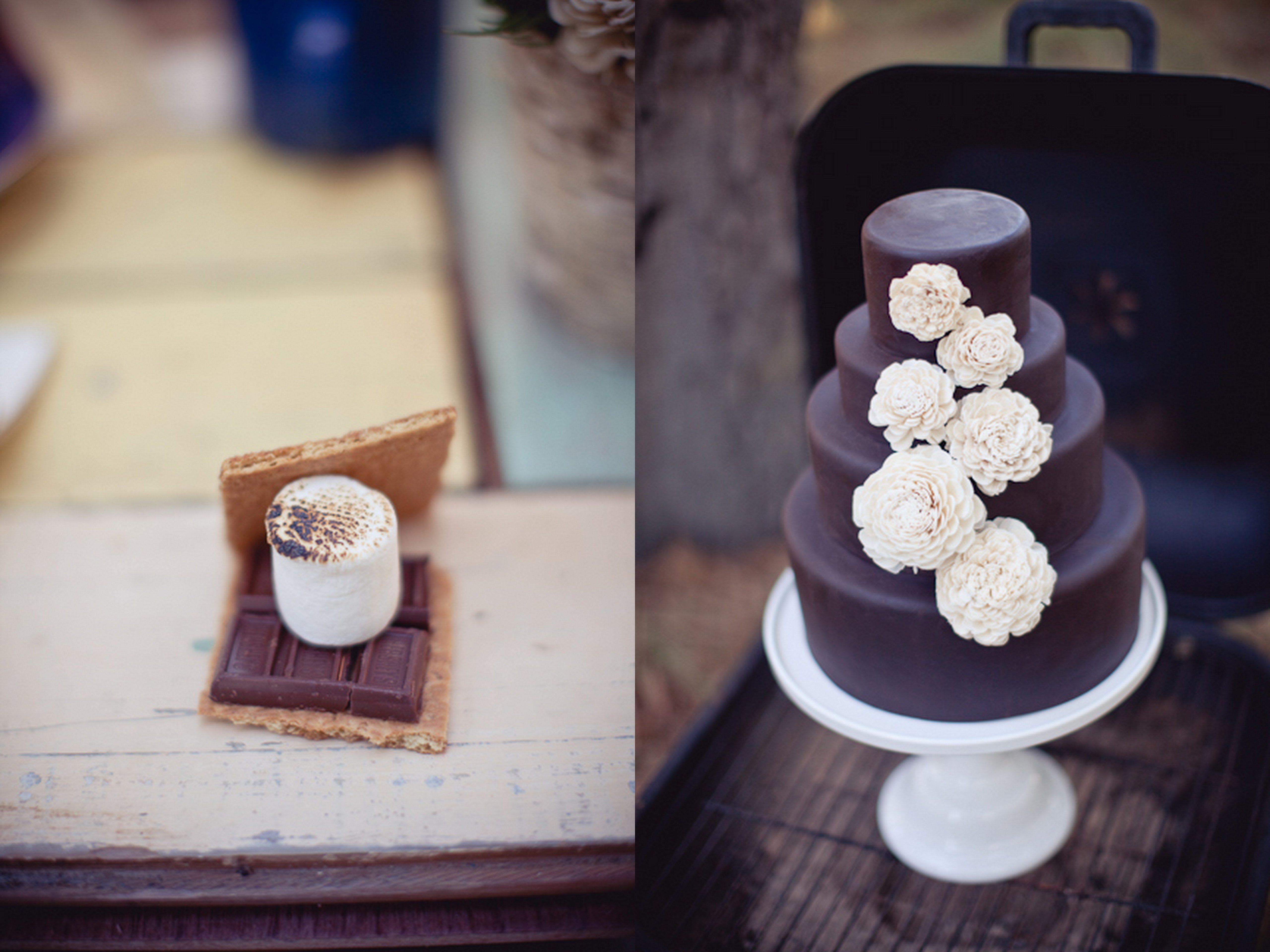 Smores Wedding Favors Chocolate