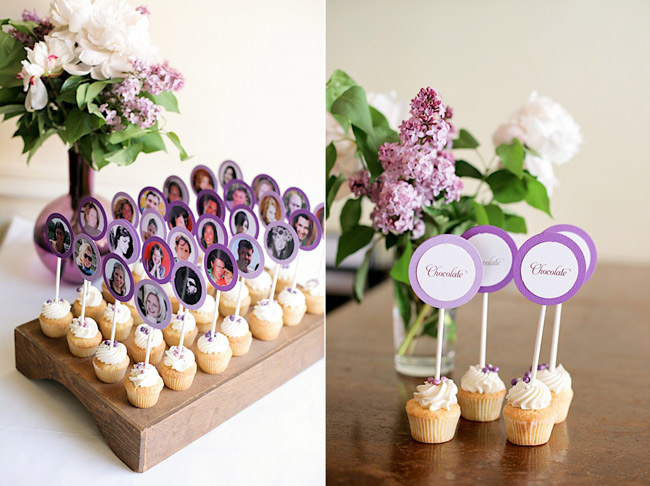 Pics photos unique escort card ideas cupcakes - Porte nom de table a faire soi meme ...