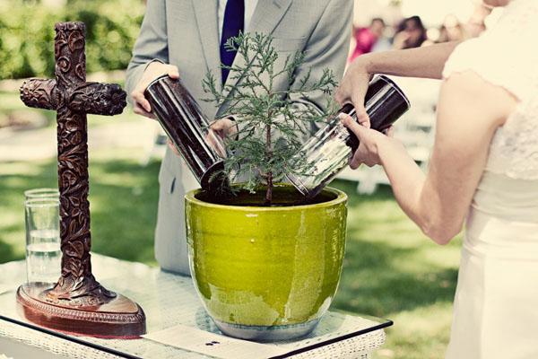 Unity Sand Ceremony Tree Planting