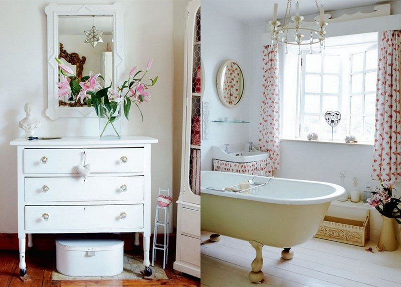 Inspired by interior design country cottage style the sweetest occasion - Country cottage bathroom design ideas ...