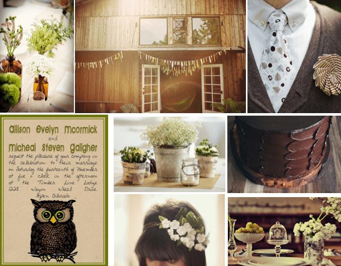 Image credits bottles barn groom invitation centerpiece bride cake