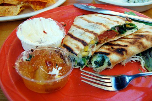 vegetarian-quesadilla