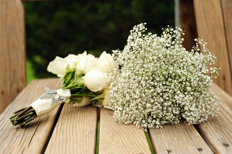 flower wedding aisle white outdoor