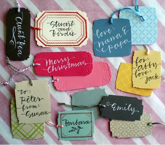 calligraphy-favor-tags
