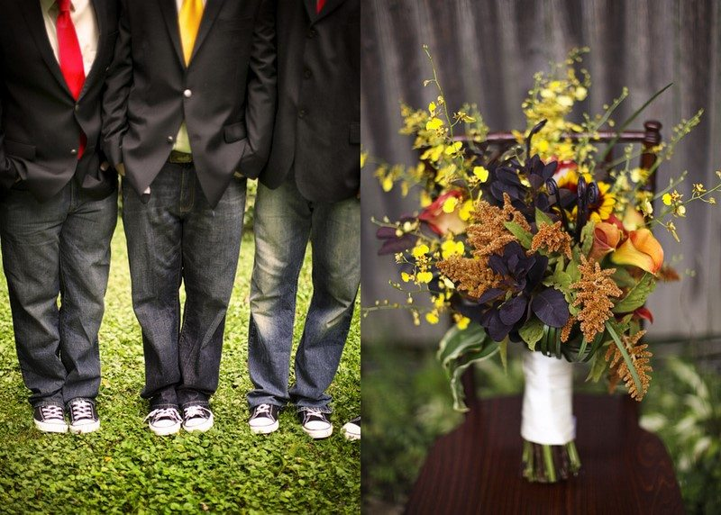 A DIY Fall Wedding The Sweetest Occasion