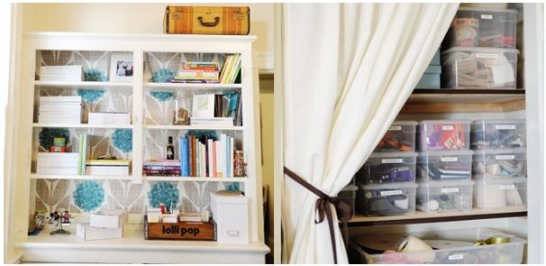organizing home office craft room