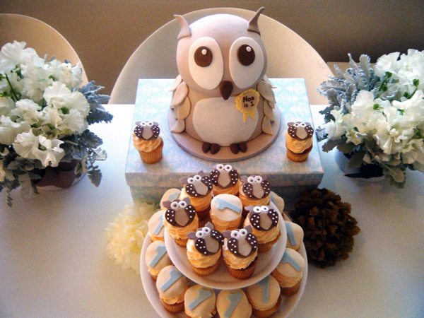 Awesome Noas Owl Themed First Birthday Party The Sweetest Occasion Funny Birthday Cards Online Aeocydamsfinfo