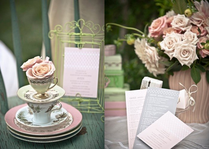 Pretty tea party bridal shower inspiration the sweetest occasion