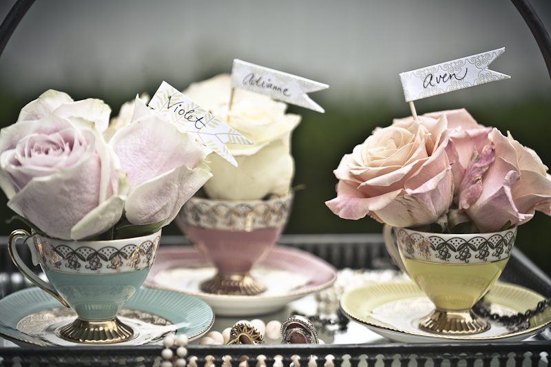 Pretty tea party bridal shower inspiration the sweetest