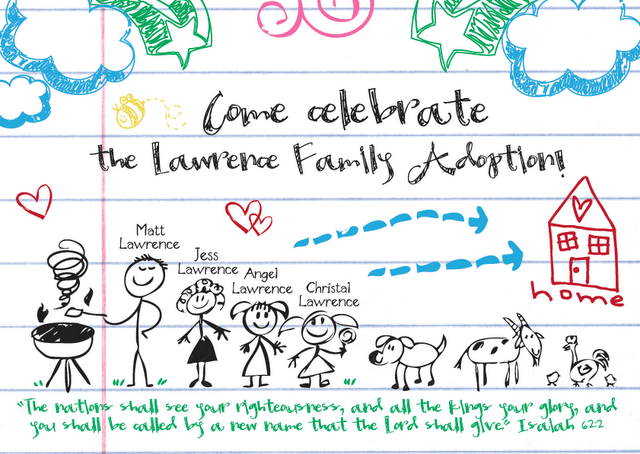 Adoption Party Invitations The Sweetest Occasion