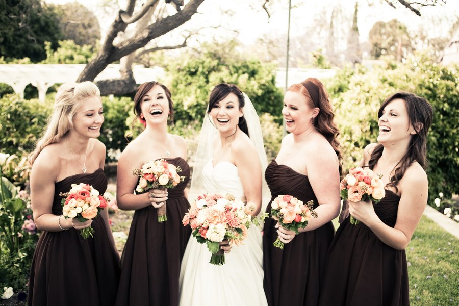 Country Wedding Bridesmaids Dresses 3 Trend brown bridesmaid dresses laughing
