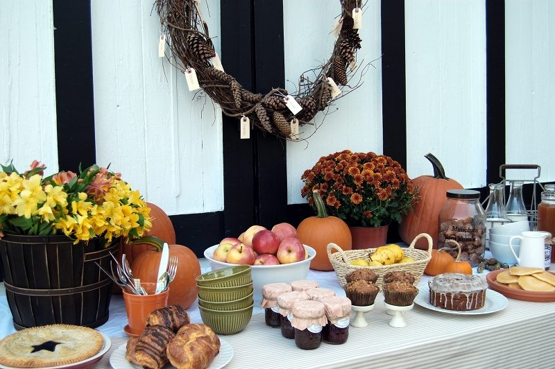 Farmhouse Harvest Brunch The Sweetest Occasion