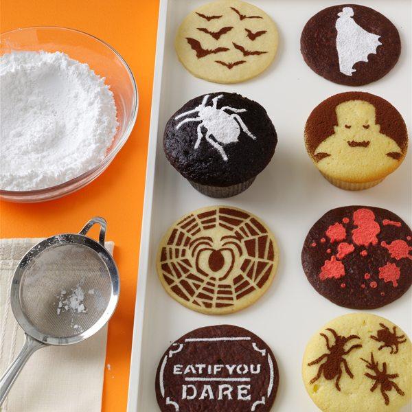 halloween cupcakes - Martha Stewart Halloween Cakes