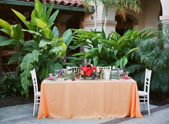 Unforgettable Garden Wedding Decor: Caribbean Tropics Wedding Inspiration